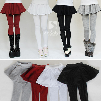 taobao agent BJD Culottes Baby Clothes Legging Culottes Multicolor Big Girl 3 Points 4 Points SD Baby Swdoll Member