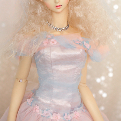 taobao agent BJD wedding dress, tulle lace skirt, 6 points, 3 points SD16 female SD doll clothes swdoll factory goods