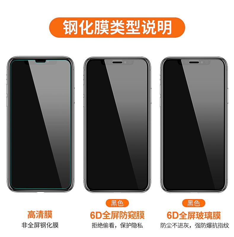 古尚古 iPhone全系列钢化膜 2张装 送贴膜神器 图1