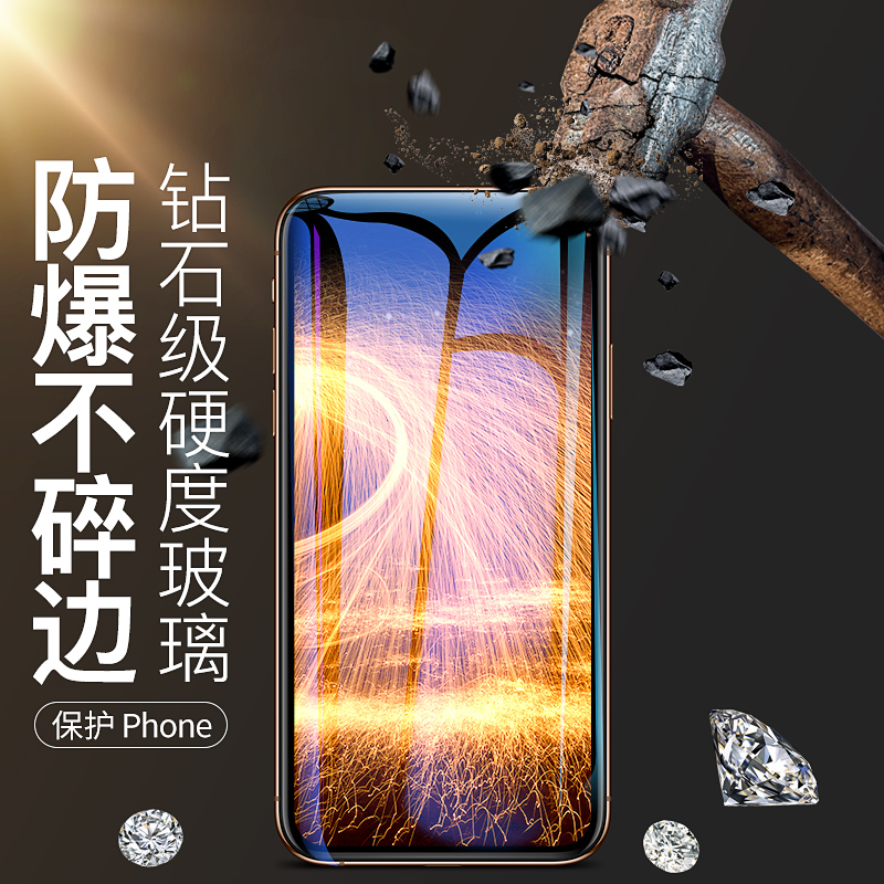 iPhone全系列:3张装 古尚古 钢化膜