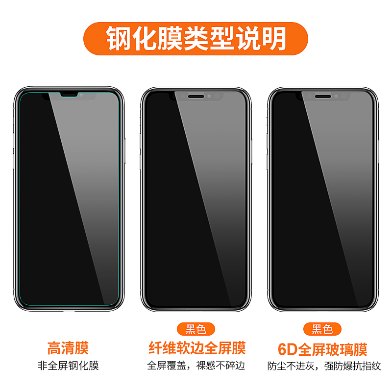 iphonex tempered film apple xs mobile phone film iphonexsmax water condensation full screen. Black Bedroom Furniture Sets. Home Design Ideas