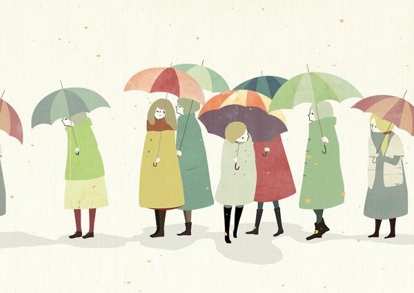 下雨天怎样办?备上它出止没有怕
