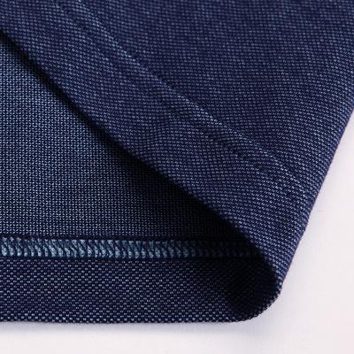 Luzhu 2018 mới người đàn ông trung niên của mercerized cotton ngắn tay T-Shirt cha của nam giới kinh doanh bình thường nửa tay polo áo sơ mi ao thun polo nam Polo