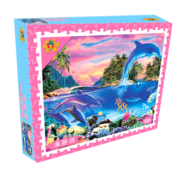 Dolphin Bay - 1000 Tablets Puzzle Version