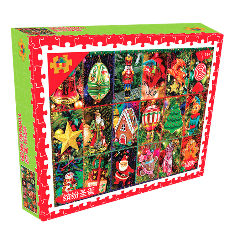 Fun Christmas - 1000 Tablets Puzzle Version