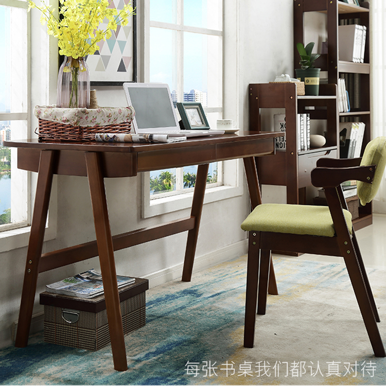 Solid wood computer desks Small Solid Wood Computer Desk Desktop Home Writing Desk Simple Bedroom Small Table Student Desk Simple Modern Chinahaocom Usd 26716 Solid Wood Computer Desk Desktop Home Writing Desk