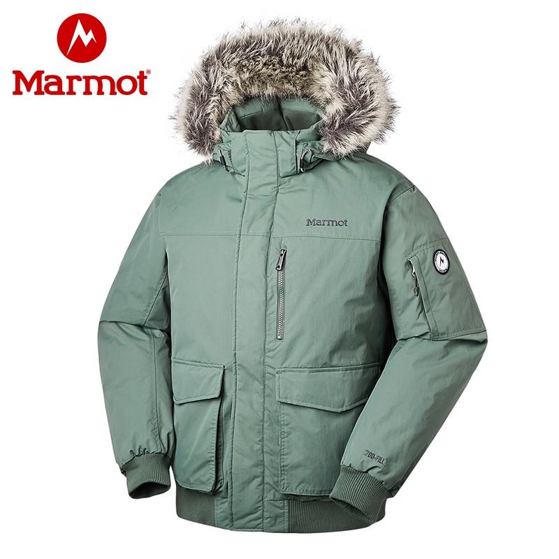 Marmot 土拨鼠 19年秋冬新款 Stonehaven 700蓬带毛领 户外男式羽绒服 V81670 多重优惠折后¥1499包邮 3色可选