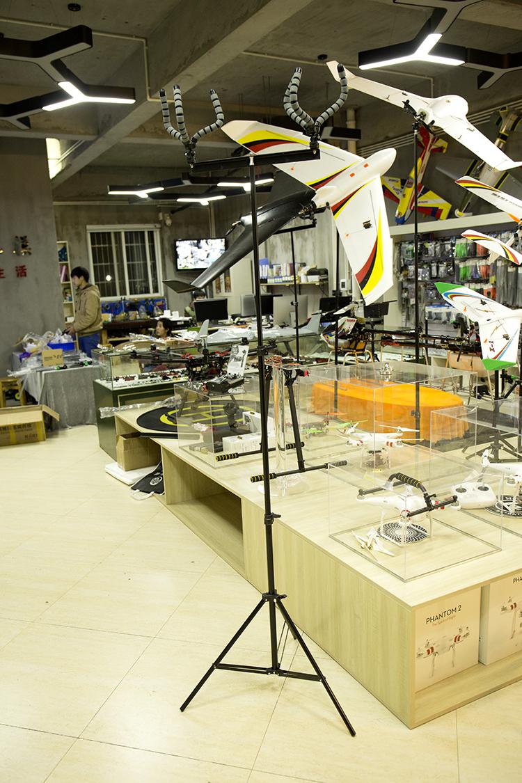 Mayatech 无人机展架 固定翼 涵道 飞机展架 室内 外场展示展示小号单头68元大号双头98元
