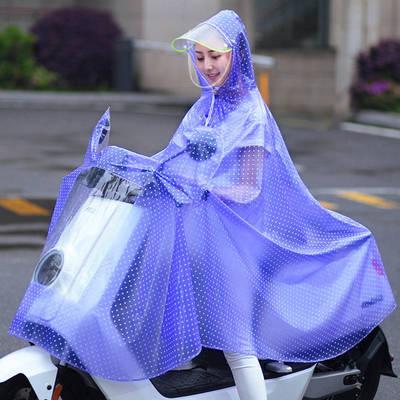 雨衣电动车长款全身透明骑行专用女款男雨披电瓶车单人加大加厚