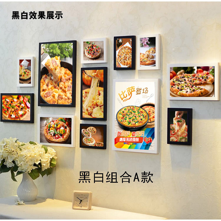 USD 27.23] Pizza pizza shop fast food restaurant pizza Burger fresco ...