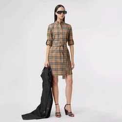 Burberry / Burberry Vintage plaid shirt dress 80245851