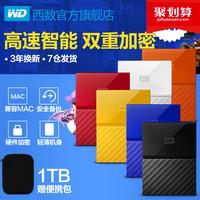 WD Western Digital Mobile Hard Drive 1t Мой паспорт 1tb высокая Speed USB3.0 сменный жесткий диск для защиты от копирования на диске, совместимый с мобильным диском Apple Mac