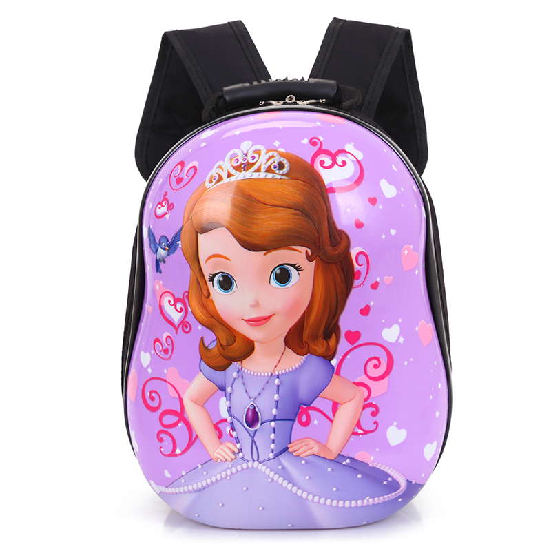 cd9590487d Hard shell kindergarten schoolbag children baby bag 1-3-6 years old boys  and girls New eggshell backpack
