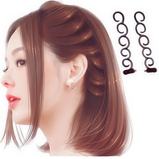 Burst Artifact Lazy Hairdressing Tools Package Resin Styles 蜈蚣 优 优 Summer Korea Hair Accessories