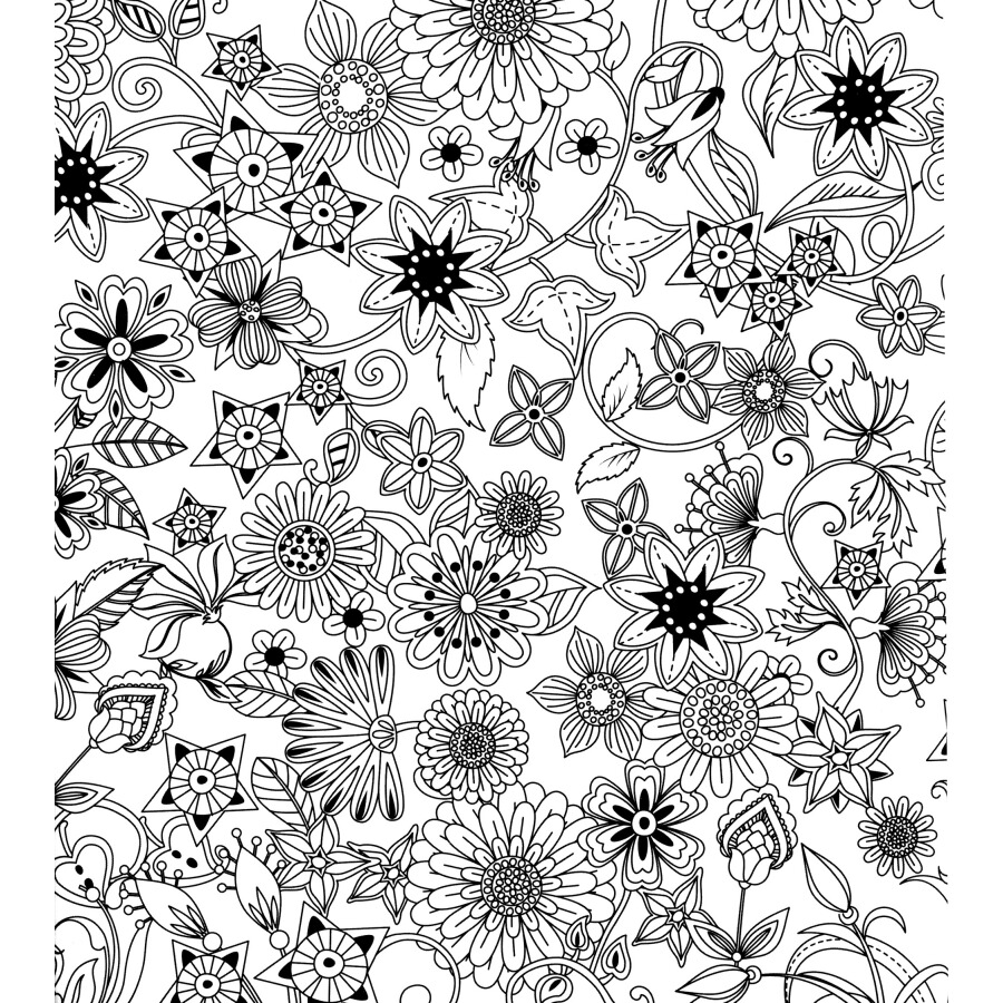 Dream Garden A Hand Painted Coloring Book That Returns The Mind To Soul Secret