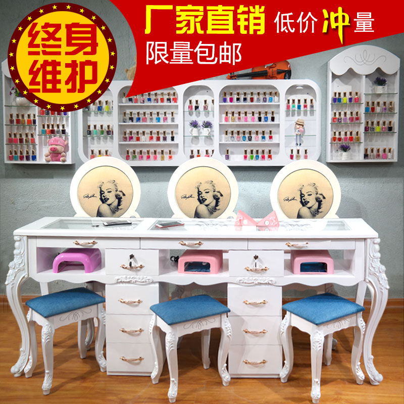 USD 26.71] Specials paint Nail Art table and chairs set single ...