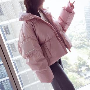 chic棉服女短款小棉袄ins面包服