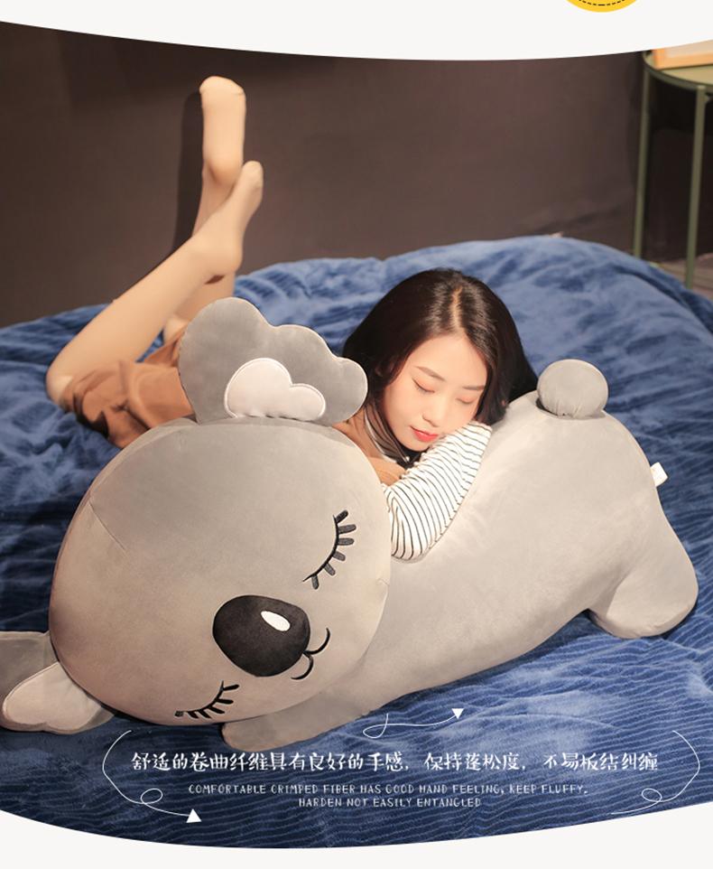 絨毛玩偶公仔抱枕兒童送禮 可愛趴趴考拉毛絨玩具公仔大號樹袋熊女生抱著睡覺抱枕娃娃萌女孩無尾熊