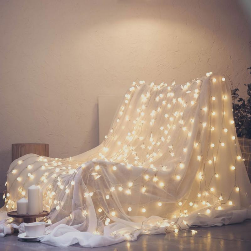 星星网红灯饰房间布置少女心卧室装饰品地摊小彩灯闪灯串灯满天星