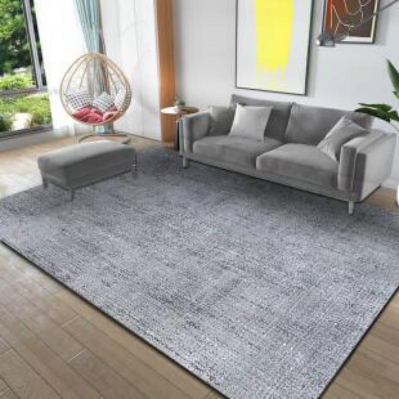 北欧风网红同款轻奢床边地毯