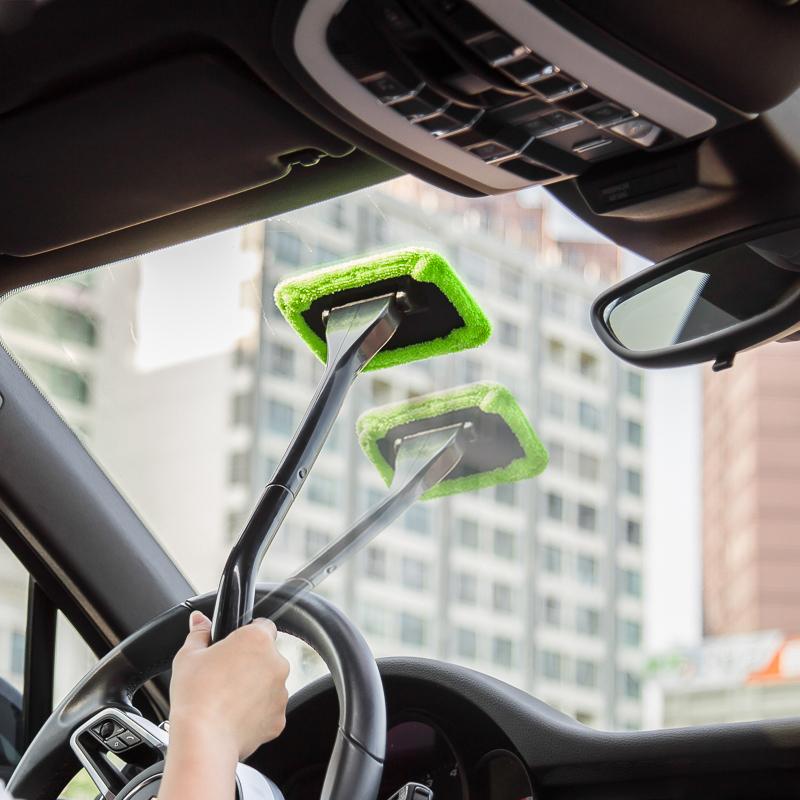 Nguồn cung cấp xe kính chắn gió lau sương mù làm sạch bàn chải cửa sổ phía trước cửa sổ gạt nước công cụ xe làm sạch xe làm sạch tạo tác
