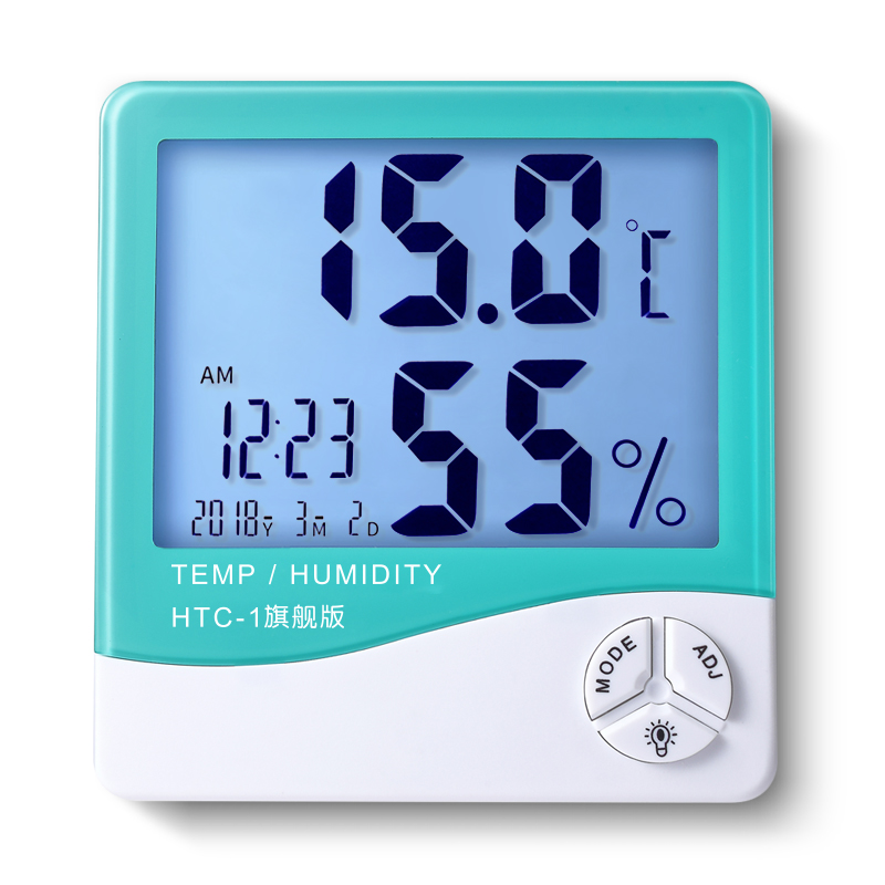 Baby Room Thermometer With Alarm