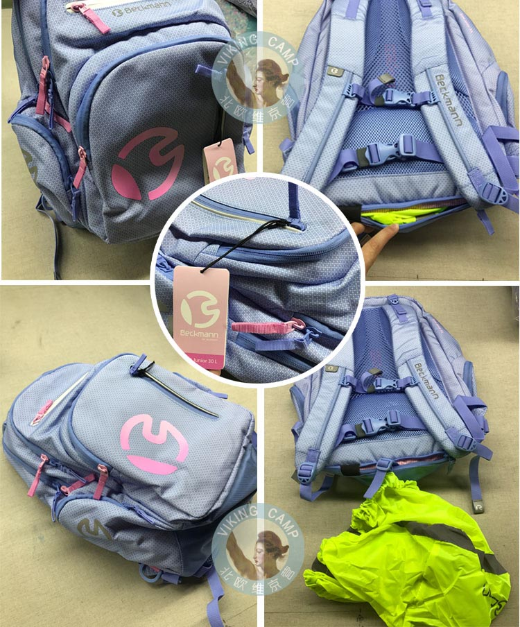 724be50ad0 Norway imported Beckmann student backpack burden reduction bag 30L junior  high school junior high school