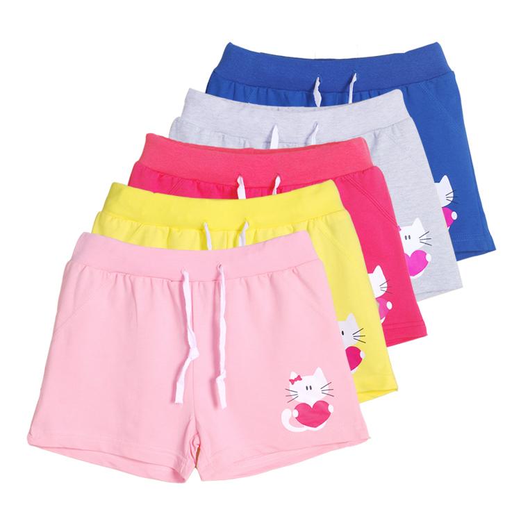 女童童装中大童儿童运动女大童短裤夏季薄款夏装2017新款外穿夏