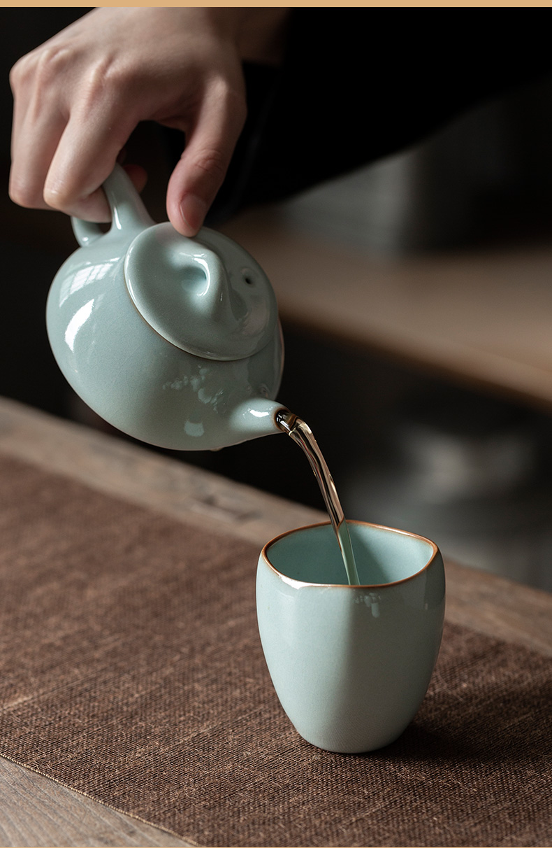 Ultimately responds to your high - end up sample tea cup ceramic cups household kung fu tea set on your porcelain masters cup single CPU
