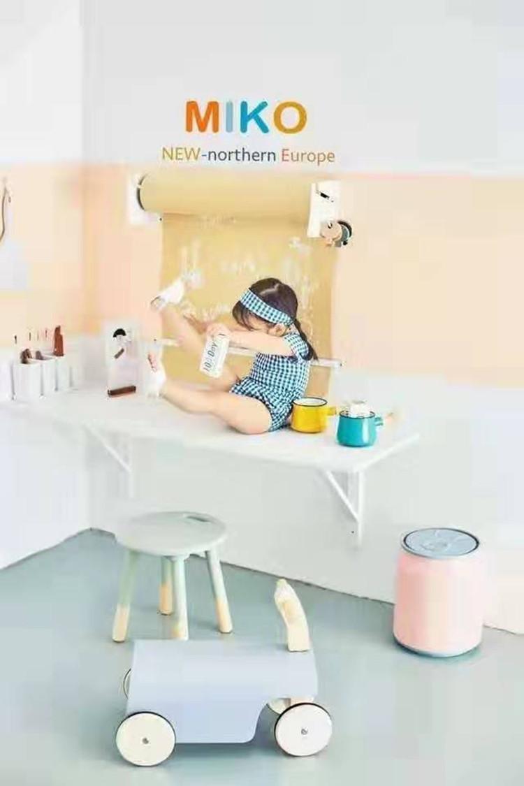 儿童摄影影楼新款摄影棚拍照制作实景道具装修设计实景实景拍摄