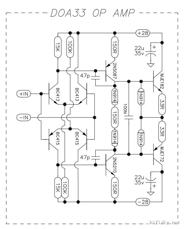 Stereo Preamp Schematic 12ax7