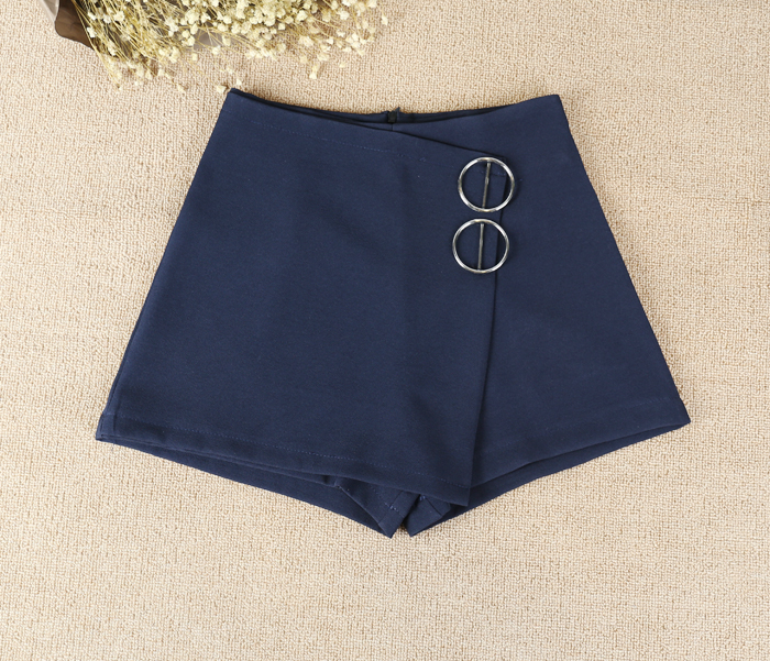 ..... culottes, 2 metal rings, dark blue