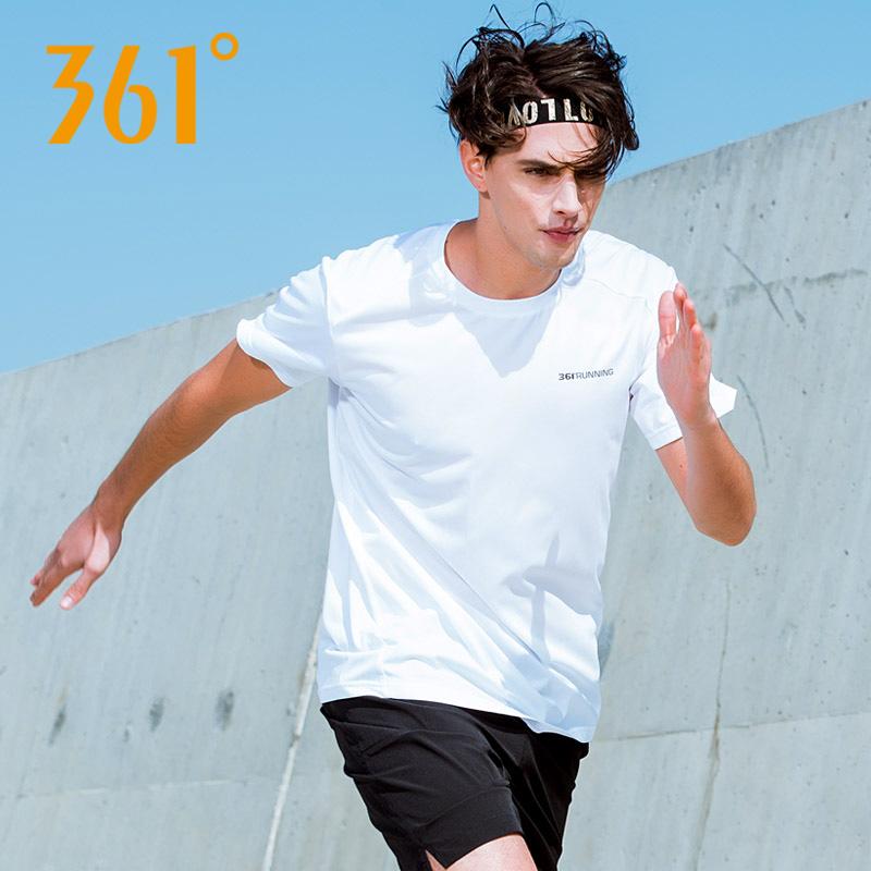 361度 轻薄透气 男式运动短袖T恤 聚划算+天猫优惠券折后¥29包邮(¥39-10)多色可选