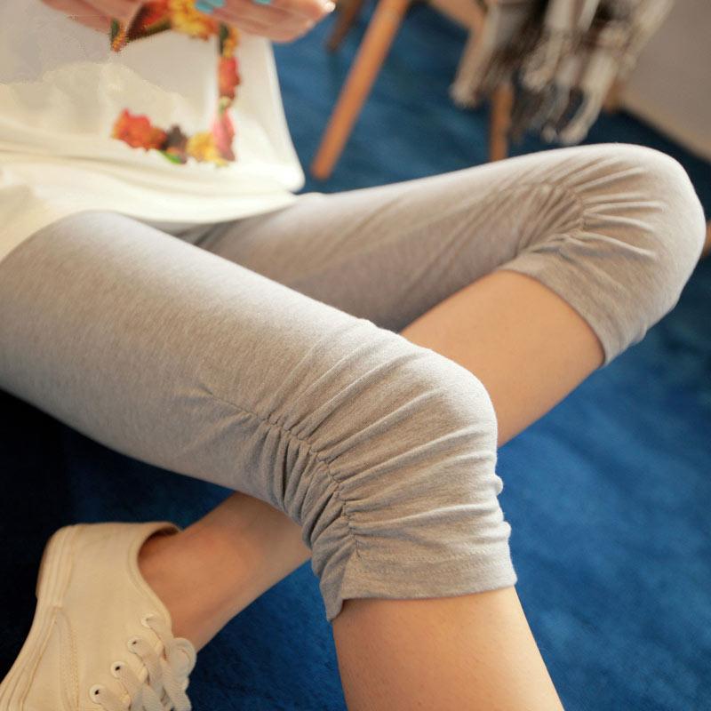 2018 phụ nữ mang thai xà cạp mùa hè phần mỏng thêu cắt quần dạ dày lift thai sản dress shorts mùa hè ăn mặc quần thai sản
