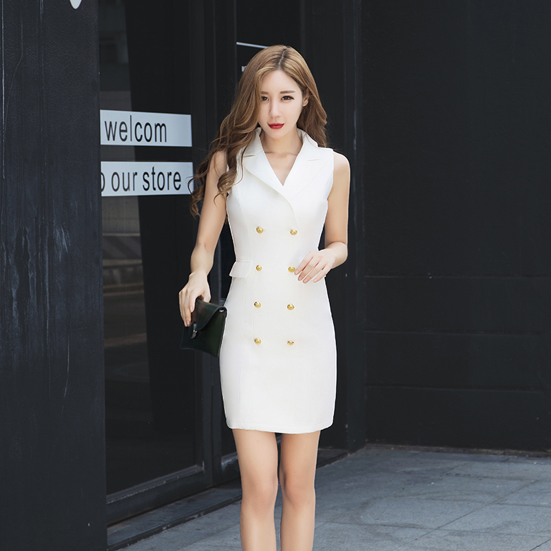 f623b78520f2 Professional ladies dress female Summer 2018 new Korean fashion temperament  sexy package hip skirt nightclub ladies
