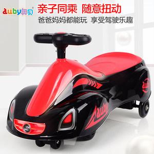 澳贝儿童扭扭车3-5岁带音乐摇摆车2岁宝宝滑行车男童车子女孩玩具