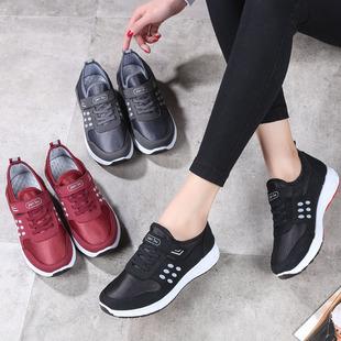 春季安全健步鞋女中老年女鞋妈妈鞋