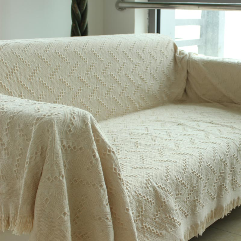 Hood Cotton Bed Cover Sofa Cloth