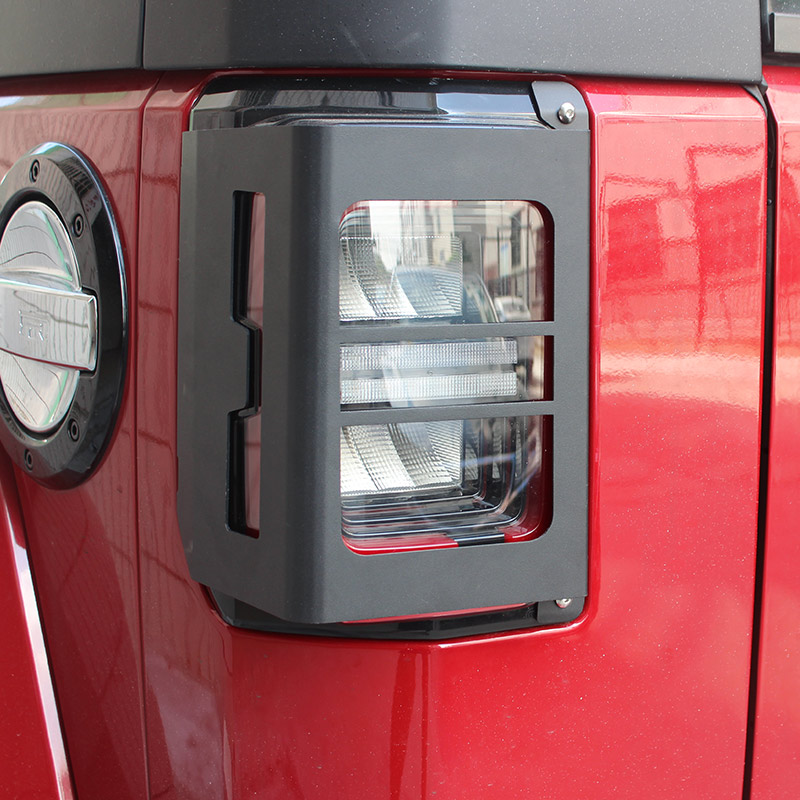 Beijing BJ40plus modified rear lamp cover plus decorative tail lamp cover  BJ40 off-road modified parts