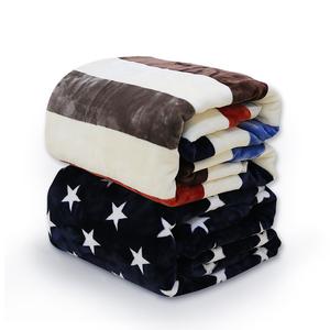 毛毯被子冬季加厚法兰绒单人宿舍学生珊瑚绒床单办公室午睡小毯子