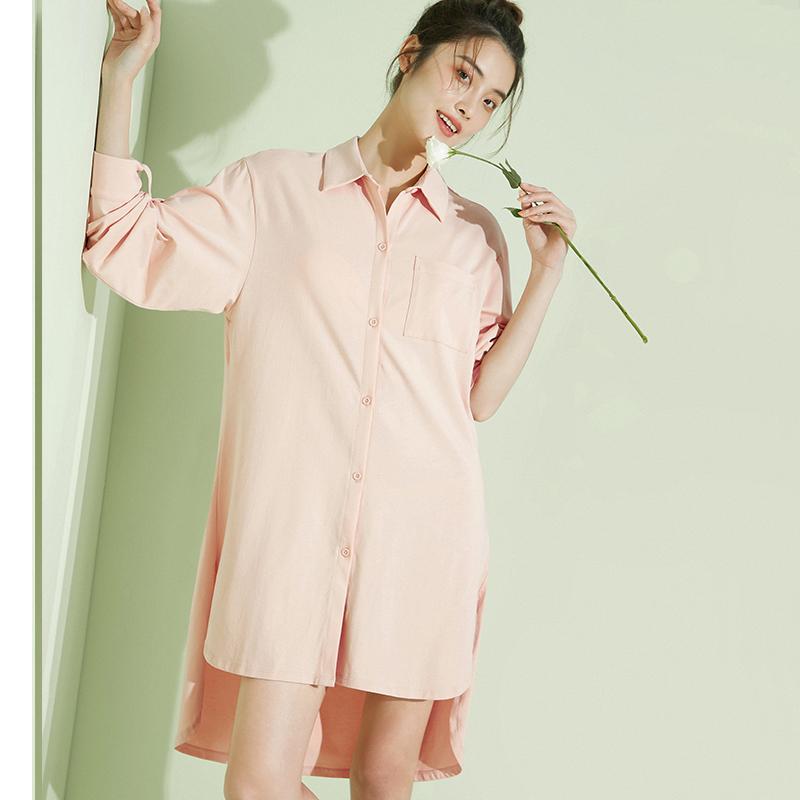 睡裙2020新款针织连衣裙性感睡衣