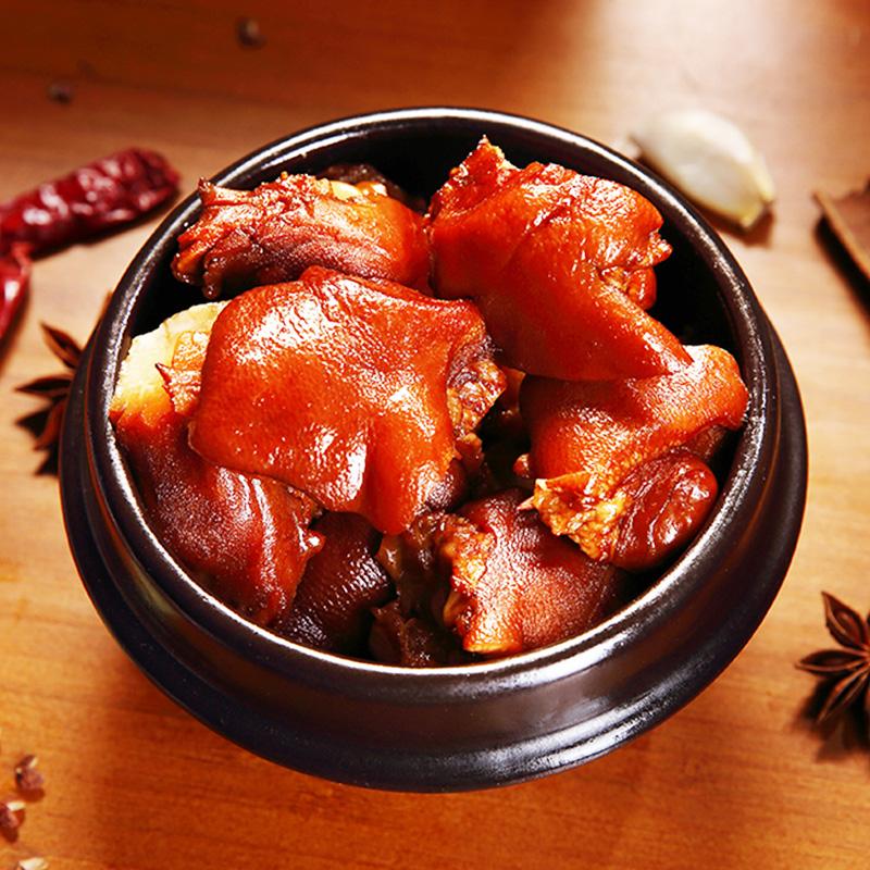 中华名小吃 青岛特产 周钦公 卤味酱猪蹄 200g 双重优惠折后¥16.9包邮 五香、香辣可选