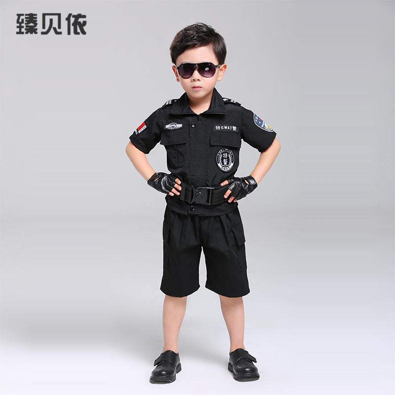 lightbox moreview · lightbox moreview ...  sc 1 st  Taobao Agent & USD 31.89] Children police costume show male summer special training ...