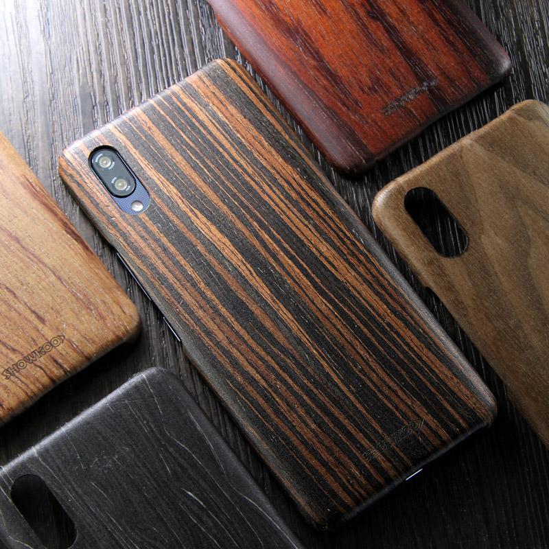 SHOWKOO Kevlar Natural Wood Ultra Slim Case Cover for vivo NEX S & vivo NEX A