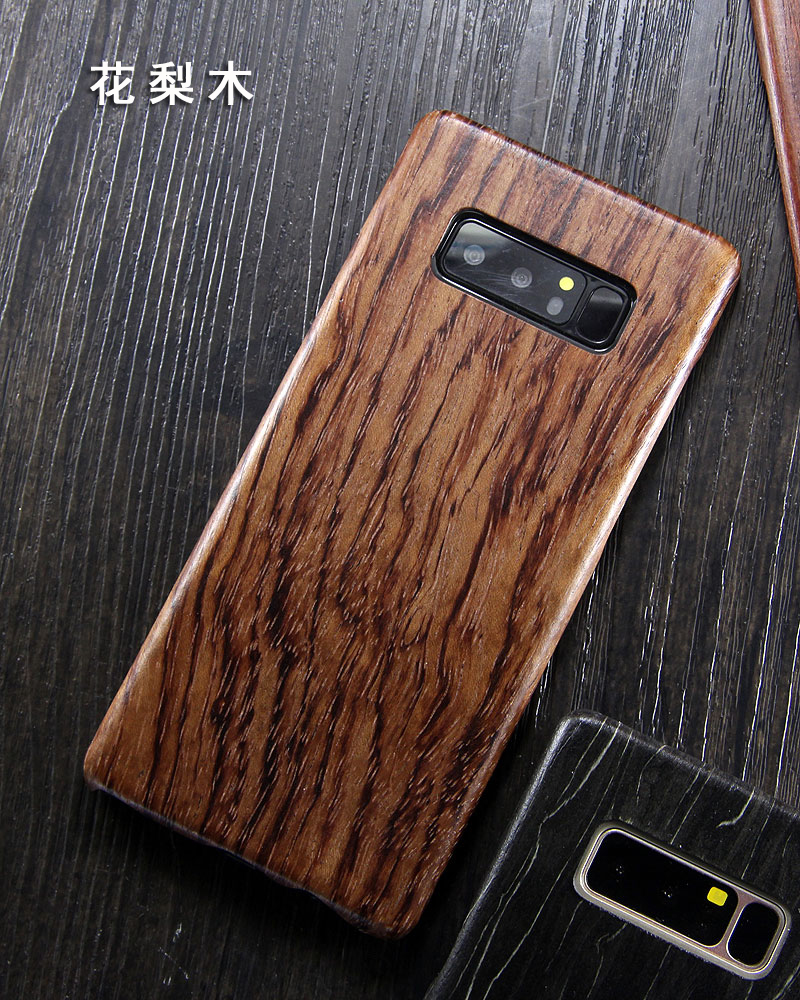san francisco 39c1f d19e5 SHOWKOO Kevlar Natural Wood Ultra Slim Case Cover for Samsung Galaxy ...