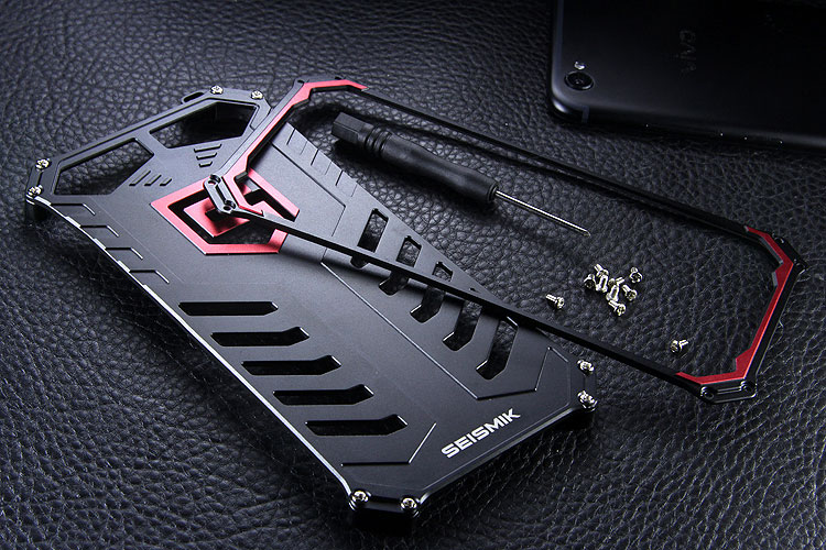 SEISMIK S-ONE Armor Man Shockproof Aluminum Shell Metal Case Cover for vivo X9s Plus / vivo X9s / vivo X9 Plus / vivo X9 / vivo V5 Plus