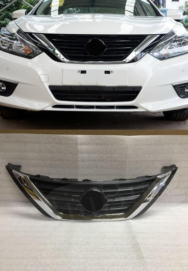 Details About Chrome Front Per Upper Grill Grid Grille For Nissan Altima 2016 2017 2018
