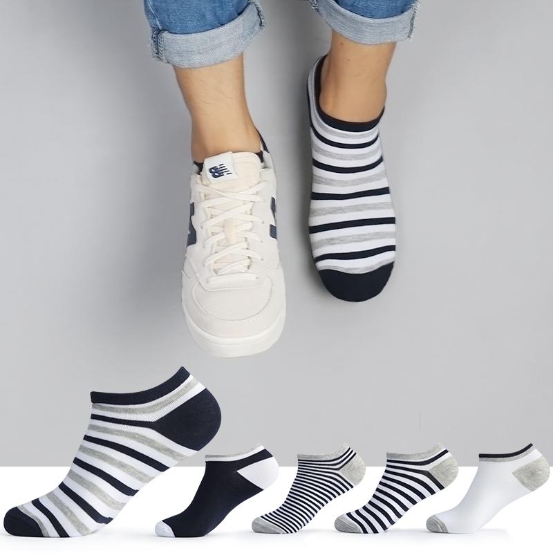 袜子男防臭透气短袜浅口春季新款船袜韩国可爱中筒低帮运动隐形袜