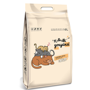Yupinzi edible tofu cat litter 6L