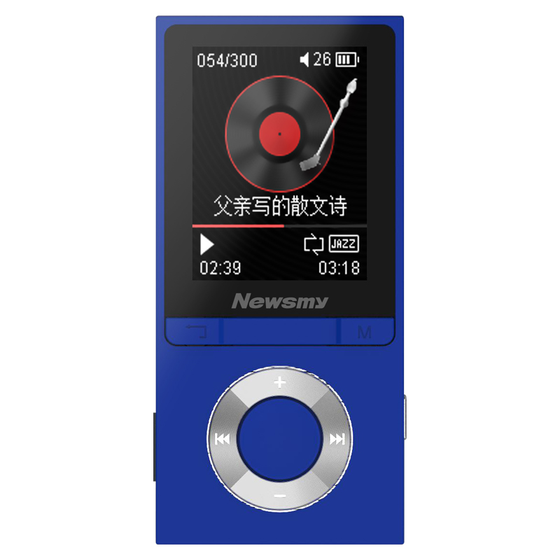Newman MP3 player Bluetooth Walkman can put students English electronic  dictionary lossless music small MP4